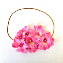 Load image into Gallery viewer, Pink Flower Headband