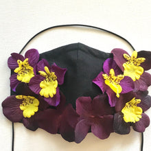 Load image into Gallery viewer, Orchid Face Mask - AnneDePasquale