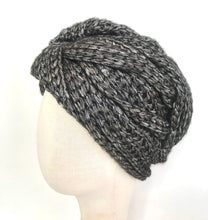 Load image into Gallery viewer, Twisted Knit Turban - AnneDePasquale