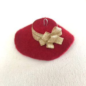 Holiday Hat Ornaments - AnneDePasquale