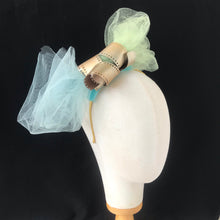 Load image into Gallery viewer, Film & Tulle Fascinator - AnneDePasquale