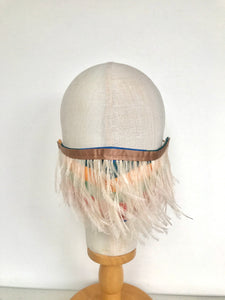 Feather Flapper Face Mask