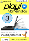 Play! Mathematics Learner Book - Grade 3