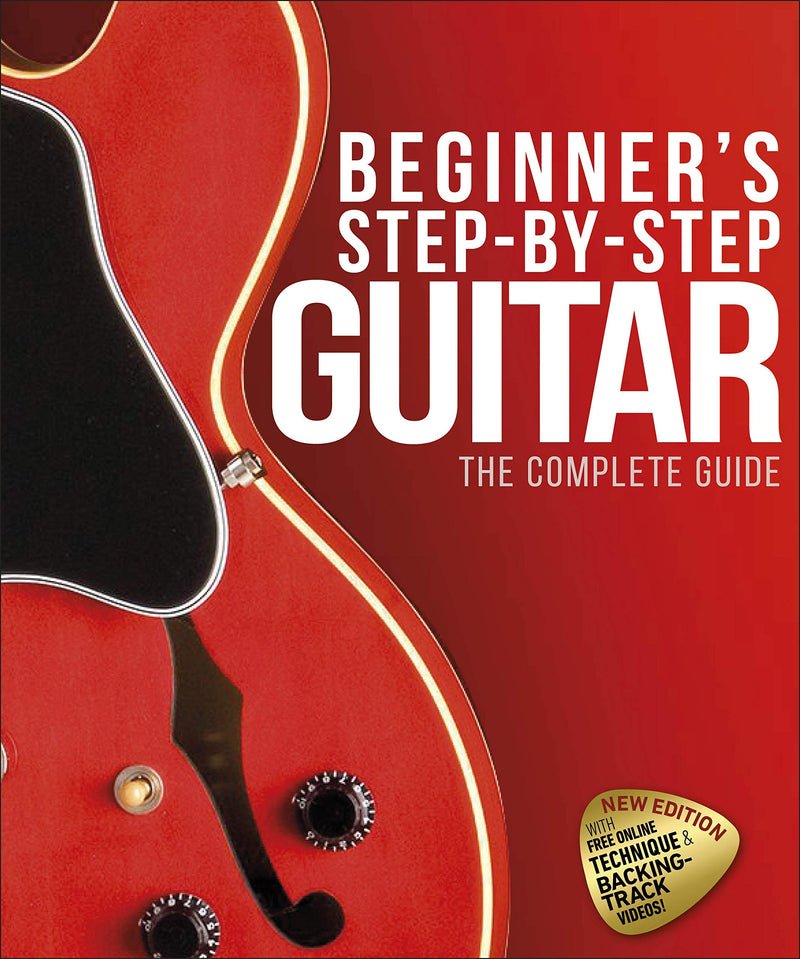 Beginner's Step-by-Step Guitar Guide by DK (Expected Sep 2020)