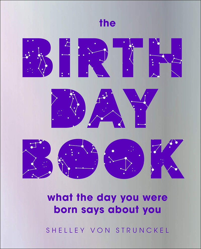 The Birthday Book: What the day you were born says about you by DK (Expected Dec 2020)