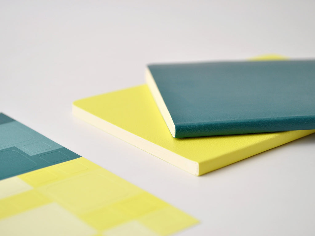 Volant Pine Green/ Lemon Yellow Journal