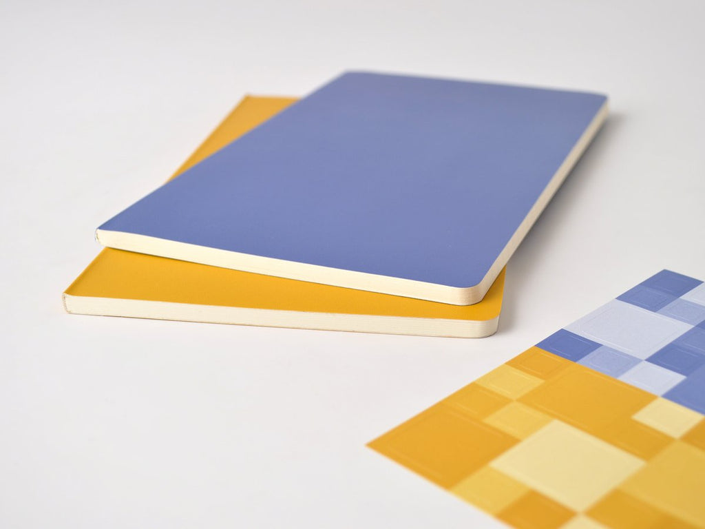 Volant Forget-Me-Not Blue/ Amber Yellow Journal
