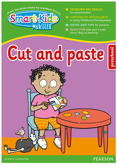 Smart-Kids Skills - Cut & Paste for Preschool