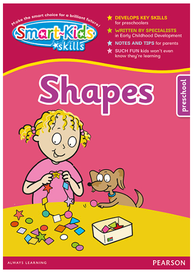 Smart-Kids Skills - Write & Wipe Shapes for Preschool