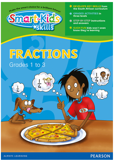 Smart-Kids Skills - Fractions Grades 1 to 3