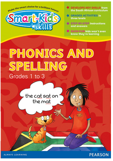 Smart-Kids Skills  - Phonics and Spelling Grades 1 to 3