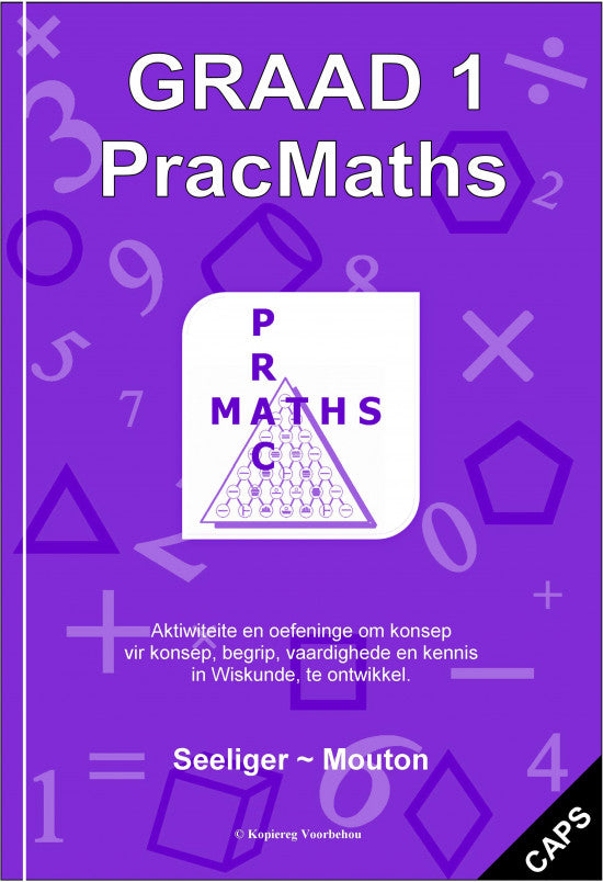 Gr 1 Prac Maths (Afr) + Memo