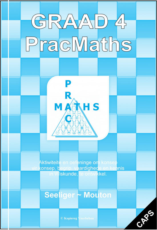 Gr 4 Prac Maths (Afr) + Memo