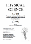 PracMaths - Grade 10 Physical Science