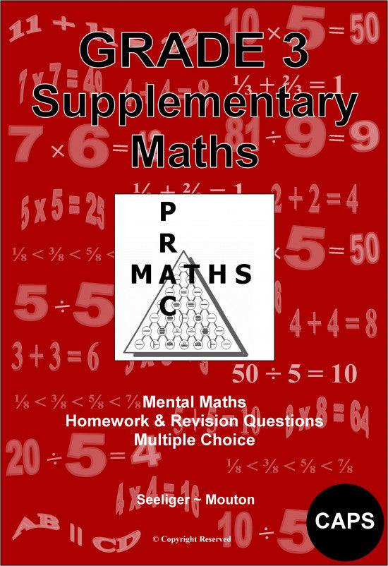 PracMaths - Grade 3 Supplementary Maths