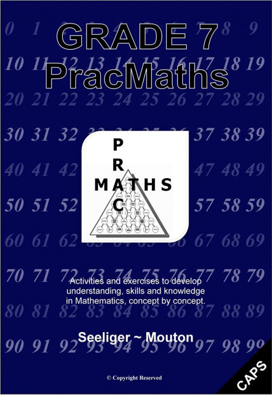 PracMaths - Grade 7 Book with Memo (English)