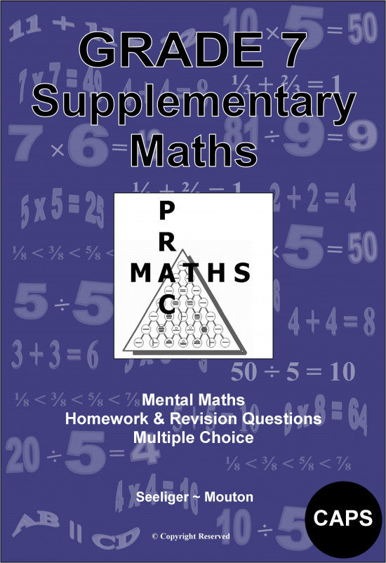 Gr 7 Supplementary Maths