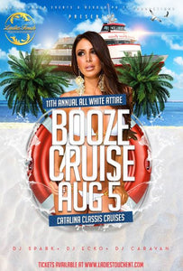 BOOZE CRUISE Table Service