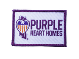 **NEW** Purple Heart Homes Velcro Patch