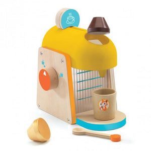 Wooden Play Espresso Machine