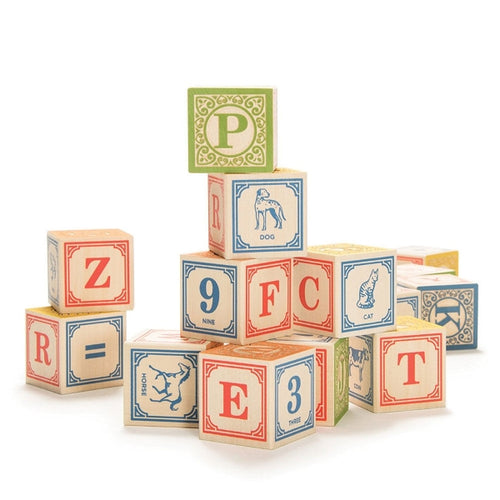 Wooden ABC Classic Blocks