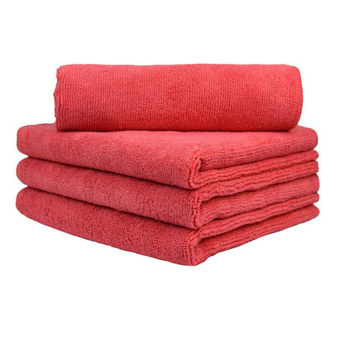 "Wash & Dry Premium Microfiber Towel (16""x24"", 380GSM, Pack of 4) - CarCarez Professional Auto Detailing and Cleaning Products"
