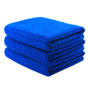 "Waffle Weave Microfiber Towel (16""x24"", 380GSM, Pack of 3)"