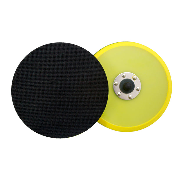 "6"" Velcro Backing Plate - 5/16"" Thread (Pack of 2) - CarCarez Professional Auto Detailing and Cleaning Products"