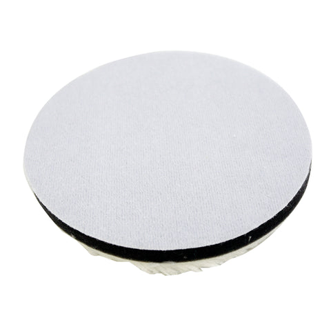 "7"" Wool Microfiber Cutting Pad (Pack of 2) - CarCarez Professional Auto Detailing and Cleaning Products"
