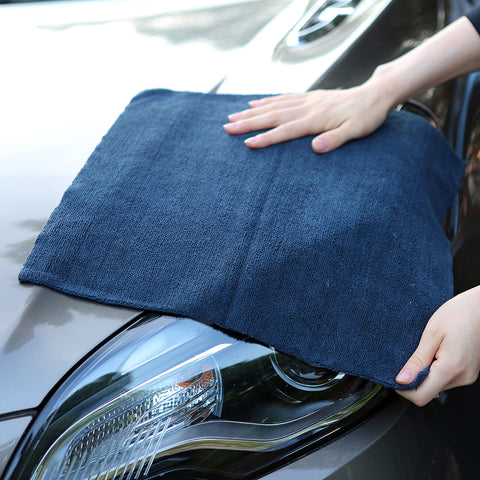 "5 Pcs Edgeless Microfiber Towel 16""x16"", 380GSM - CarCarez Professional Auto Detailing and Cleaning Products"