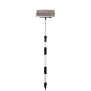 "10""/12"" Flow-Thru Brush w. Telescopic Pole (3.4'-6ft. Extension) & On/Off Selector"