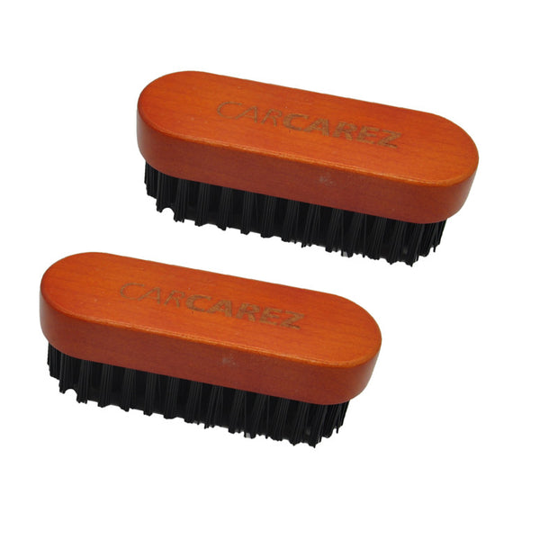 Premium Leather & Textile Detailing Brush (Upholstery, Carpet, Pigmented Leather, Alcantara & More)