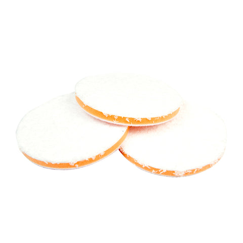 CarCarez Auto Car 5.5 inch Microfiber Buffing Polishing Pads , Pack of 3