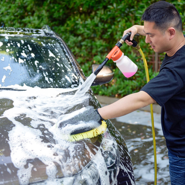 Multi-Purpose Foam Gun w. 900ml Bottle - CarCarez Professional Auto Detailing and Cleaning Products