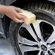 Auto Detailing Leather & Textile Cleaning Brush for Car Interiors Upholstery, Car Seats, 2 Pack