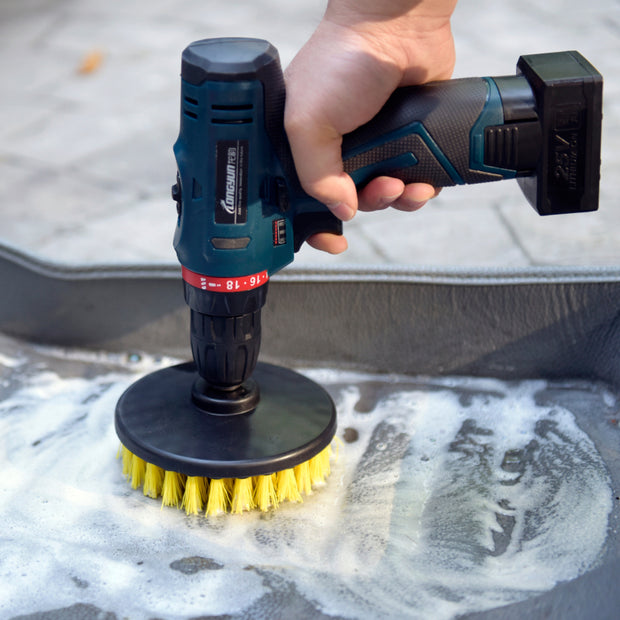 "5"" Rotary Carpet Power Brush - CarCarez Professional Auto Detailing and Cleaning Products"
