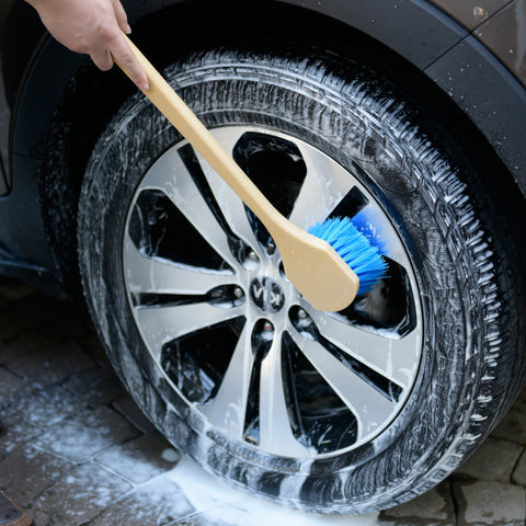 Soft Bristle Scrub Brush - CarCarez Professional Auto Detailing and Cleaning Products
