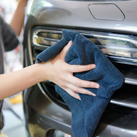 "Edgeless Microfiber Towel (16""x16"", 380GSM, Pack of 6) - CarCarez Professional Auto Detailing and Cleaning Products"