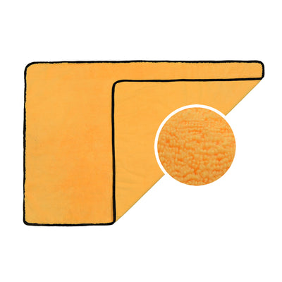 "Long/Short Hair Microfiber Towel (25""x36"", 380GSM, Pack of 1) - CarCarez Professional Auto Detailing and Cleaning Products"