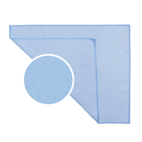 "Diamond Weave Microfiber Glass Cleaning Towel (14""x18"", 260GSM, 6pack)"