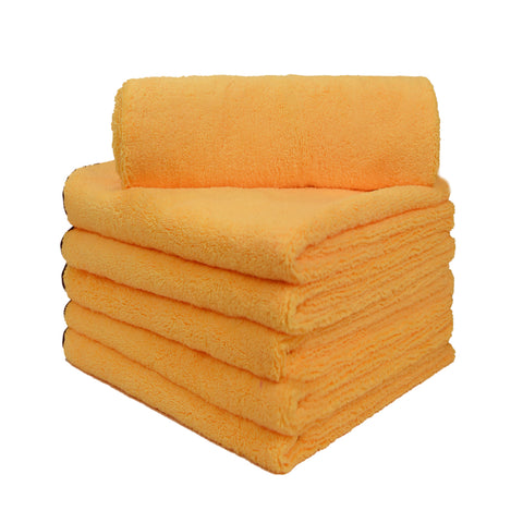 "Long/Short Hair Microfiber Towel (25""x36"", 380GSM, Pack of 6)"