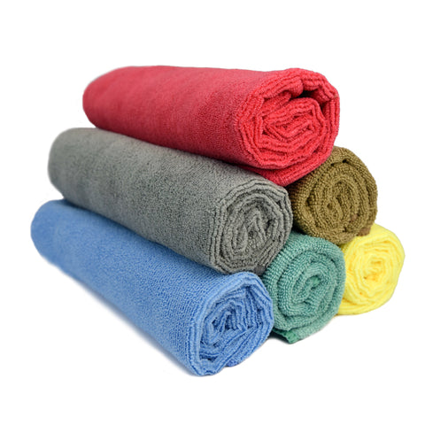 "Wash & Dry Premium Microfiber Towel (16""x16"", 380GSM, Pack of 5) - CarCarez Professional Auto Detailing and Cleaning Products"