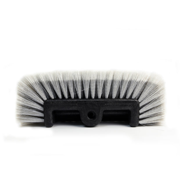 "12"" Flow-Thru Brush Head Soft Bristle - CarCarez Professional Auto Detailing and Cleaning Products"