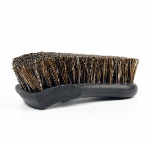 Soft Bristle Horse Hair Upholstery Brush - CarCarez Professional Auto Detailing and Cleaning Products