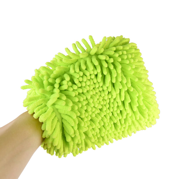 Magic Touch Chenille Wash Mitt (Pack of 2) - CarCarez Professional Auto Detailing and Cleaning Products