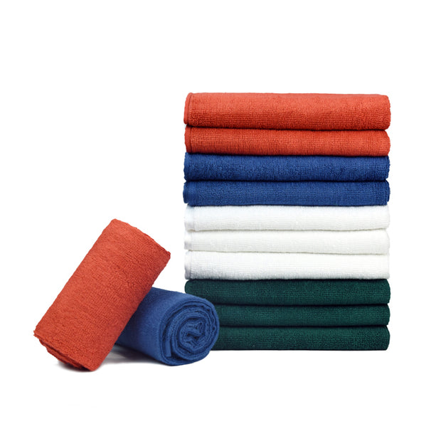 "100% Cotton Terrycloth Towel (16""x25"", Pack of 6) - CarCarez Professional Auto Detailing and Cleaning Products"