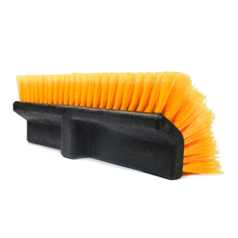 "15"" Angled Feathered Flow-Thru Brush Head - CarCarez Professional Auto Detailing and Cleaning Products"