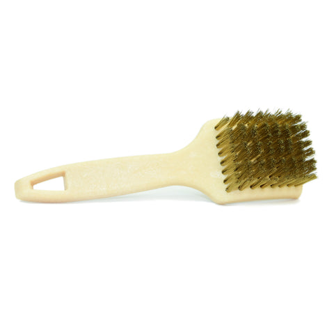 Brass Bristle Tire Brush (Pack of 2) - CarCarez Professional Auto Detailing and Cleaning Products