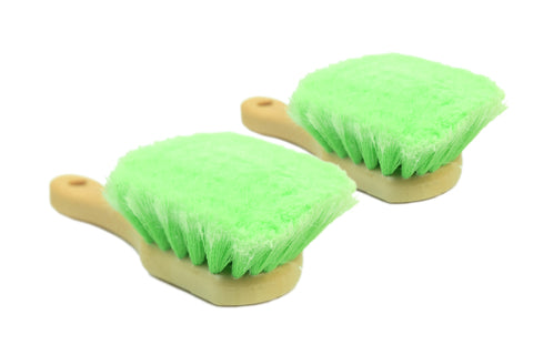 Soft Feathered Bristle Tire Brush - CarCarez Professional Auto Detailing and Cleaning Products