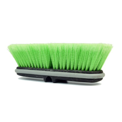 "10"" Feathered Flow-Thru Brush Head - CarCarez Professional Auto Detailing and Cleaning Products"